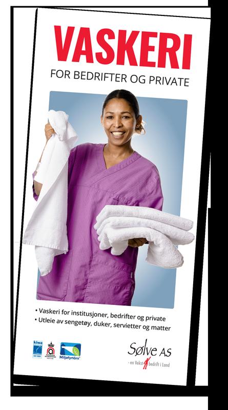 Brosjyre vaskeritjenester - trykk for å laste ned!